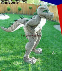 2020 Dinosaur High Quality Handmade Mascot Costume Suits Cosplay Xmas Easter Top