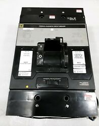 Mal26600 1390 Sqd 2 Pole 600a 600vac With 48vdc Shunt Trip Aux Switch Thermal
