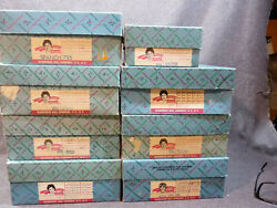 8 Madame Alexander Dolls - With Boxes And Tags - 7 International + Betsy Ross