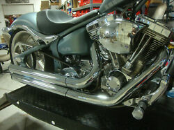 Big Dog Motorcycles Mean Mothers Ii Complete Exhaust System 330 Tire Ridgeback