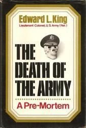 The Death Of The Army A Pre-mortem