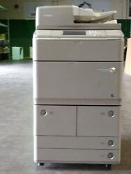 Canon Imagerunner Advance 6255 Monochrome Mfp W/finisher Paper Deck And Fax