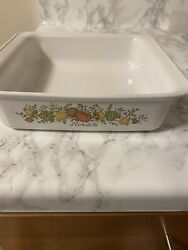 Corning Ware Spice Of Life Land039echalote Casserole Brownie Pan 8 X 8 No Lid