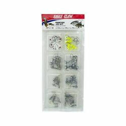 Eagle Claw Panfish Jig Kit 58-piece Crappie And Bluegill Jighead Assortment