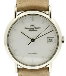 Portofino Automatic Stainless Steel White Dial Men's Watch Ref Iw351320