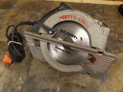 Porter Cable Usa 7 1/4 Right Hand Electric 15a Circular Saw Model 347 Tested