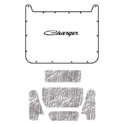 Hood Insulation Pad Cover For 1971-1974 Dodge Charger W/mb-050 Charger