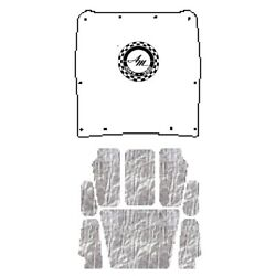 Hood Insulation Pad Heat Shield For 68-70 Amc Javelin Under Cover A-055 Amx 390
