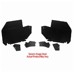 Trunk Side Panel Board 2pc For Made Pontiac Bonneville 2 Door Convertible Gray