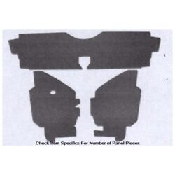 Side Panels Double Black Panelboard 4 Piece For 1975-1980 Granada Made In Usa