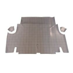 Trunk Floor Mat Cover For 65-66 Ford Mustang 2dr Coupe And Convertible Small Plaid