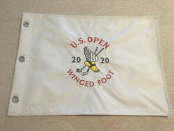 Us Open 2020 Winged Foot Golf Club Embroidered Golf Pin Members Flag Pga Tiger