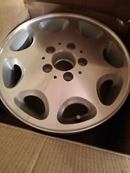 Two Mercedes Benz 6 1/2 J X15h Alloy Wheels One Brand New- One In Goodshape Used