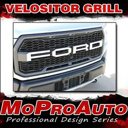 Ford Raptor Letter Decals Velocitor Grill Text 3m Vinyl Graphics 2018 2019 2020