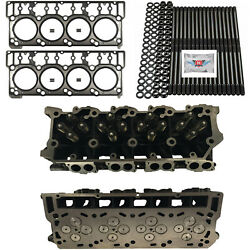 New 20mm Cylinder Heads Studs Mahle Head Gaskets - Fits Ford Powerstroke 6.0l