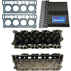 New 20mm Cylinder Heads Arp Oem Head Gaskets - Fits Ford Powerstroke 6.0l