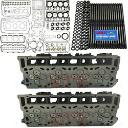 Oringed 20mm Cylinder Heads Arp Mahle Full Gasket Set Fits Ford Powerstroke 6.0l
