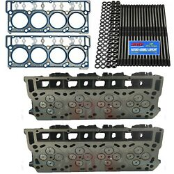 Oringed 20mm Cylinder Heads, Arp, Oem Head Gaskets - Fits Ford Powerstroke 6.0l