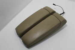 Audi A8 D3 Torrone Beige Cream Centre Armrests With Phone Cradle