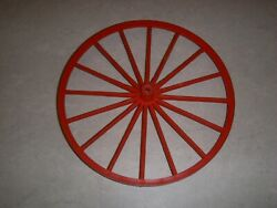 Vintage Johnny West Horse And Covered Wagon Front Wheel Replacement Part