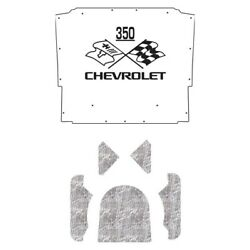 Hood Insulation Pad Heat Shield For 1970-1972 Chevrolet El Camino With Ceid-350