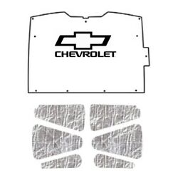 Hood Insulation Pad Heat Shield For 1994-2004 Chevy S-10/s-15 With G-047 Bowtie
