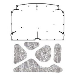 Hood Insulation Pad Heat Shield For 1971-1977 Chevrolet Vega Under Cover Smooth