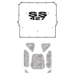 Hood Insulation Pad Heat Shield For 1967 Chevy A-body And El Camino With G-ss427