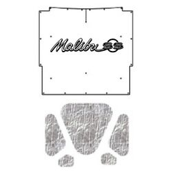 Hood Insulation Pad Heat Shield For 66 Chevy A-body With G-015 Chevelle Script