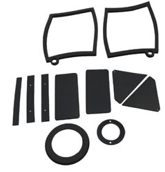 Heater Box Gasket Kit Weatherstrip Seal For Ford Mustang 1969-70 2dr Rubber