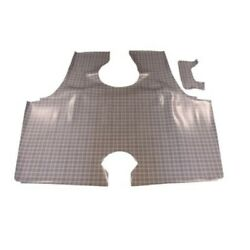 Trunk Floor Mat Cover For 63 Ford Galaxie 2-door Hardtop Rubber Large Plaid 2pc