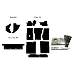 Insulation Sound Deadener Kit For 99-06 Chevy Truck Extended Cab Pickup Complete