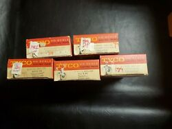 Vintage Ho Scale Tyco 5 Electric Train Lot New Old Stock