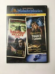 The Haunted Palace/the Tower Of London - Midnite Movies Double Feature Dvd