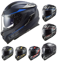 Ls2 Ff327 Challenger Ct2 Full Face Motorcycle Motorbike Touring Helmets