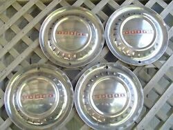 Vintage Antique 1953 53 Dodge Coronet Meadowbrook Royal Hubcaps Wheel Covers