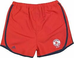 Adidas MLB Youth Girls Boston Red Sox Lightweight Charger Shorts $9.99