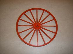 Vintage Johnny West Horse And Covered Wagon 7 Back Wheel Replacement Part