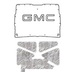 Hood Insulation Pad Heat Shield For 1952-1993 Gmc Sonoma Under Cover W/g-001 Gmc
