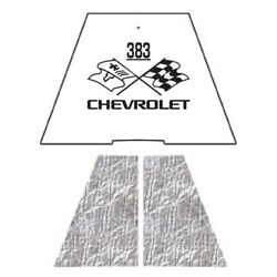 Hood Insulation Pad Heat Shield For 1949-1952 Chevrolet Under Cover W/ceid-383