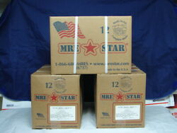 MRE STAR 512 CASES STORED IN DRY CAVE
