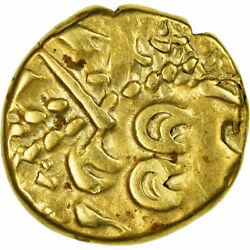 [658265] Coin Ambiani Stater Vf Gold Delestrandeacutee158