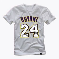 Kobe Bryant Tribute To A Legend Iconic Number 24 Awesome Graphic T Shirt