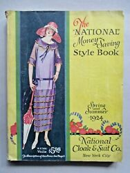 National Cloak Catalog - Spring/summer 1924 333 Pages Of Clothes Fashion