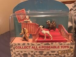 Vintage Mcdonalds Disney 101 Dalmations Happy Meal Toy Store Display Rare