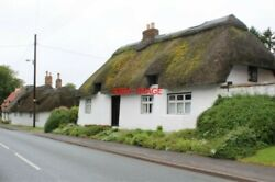 Photo Thimbleby Lincolnshire 'white Cottage' There Are A Number Of Thatched Bui