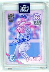 2020 Archive Signatures [ Luis Severino ] 2018 Topps Gypsy Queen Auto 1/1