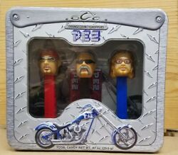 Orange County Choppers Pez Candy Dispenser Set - Collectible New Sraled 2006 Set