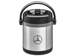 Mercedes Benz Thermal Insulated Container 1,2 Litres Stainless Steel Silver Nip