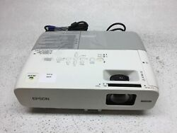 Epson PowerLite 826W H296A LCD Projector Tested amp; Working 72 Lamp Hours Fair
